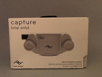 Peak Design Replacement Clip (Clip Only) CC-S-3 for Capture v3 (Silver)