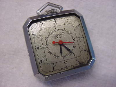 Vintage large antique Art Deco INGERSOLL DUO-DIAL DOCTOR DOCTORS pocket watch