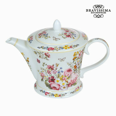 Tetera Porcelana 1 L - Colección Kitchen's Deco by Bravissima Kitchen