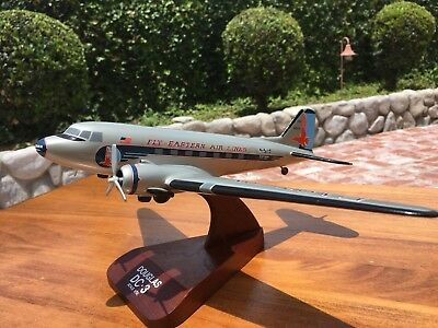 Eastern Airlines DC-3 Wood Display Model 1/72 Scale