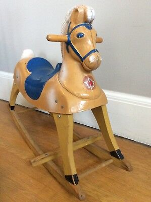 Vintage Rocking Horse HARRY The Hairless Horse