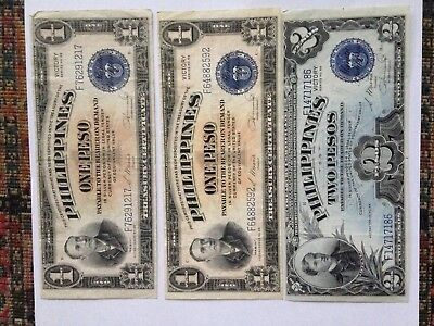 Circa  WWII Foreign Currency Philippines/Netherland Indies/Japan