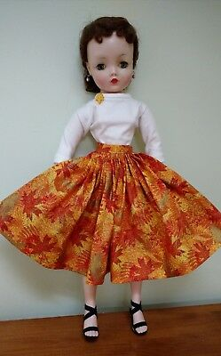 """For Vintage 20"""" Cissy - 2 pc Fall Outfit - DollDreams By Natalie"""