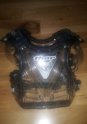 Boy's THOR Motocross Chest Protector Youth Small 40-60 pounds FREE SHIPPING!