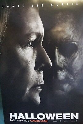 Halloween 2018  Advance B Movie Poster Double Sided 27x40 Orig