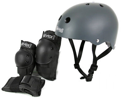 SEVEN Skates Ultimate Protective Pack Scooter Certified Helmets and Protection