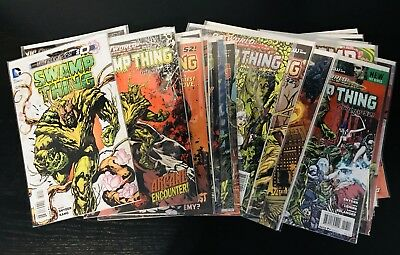 Swamp Thing New 52 Lot #0-32, Annual #1-2 DC Comics Scott Snyder