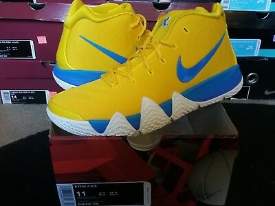 premium selection 4cb37 df40f NIKE AIR ZOOM Kyrie Irving IV 4 Kix Cereal Pack Amarillo Multi-Color BV0425  700