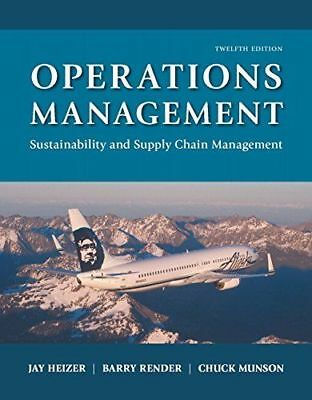 Operations Management Sustainability and Supply Chain Management 12th Edit - PDF
