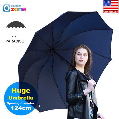 Paradise Men Folding Large Umbrella  Rain Windproof Outdoor Non Automatic