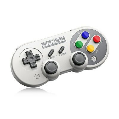 8Bitdo SF30 Pro Wireless Bluetooth Controlle with Classic Joystick Gamepad