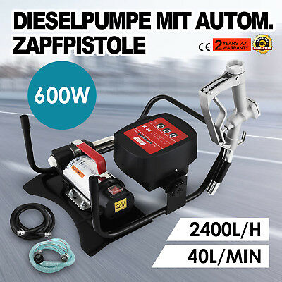 Diesel Transfer Pump Fuel Oil Self Priming Extractor Electric 220V 230V 240V