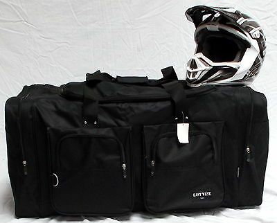 Xl Motorcycle Gear Bag Moto Cross Atv Off Road Snowmobile Black