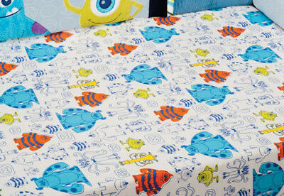 Disney Baby - Monsters, Inc. baby  Crib Sheet sulley - Mike  * Discontinued