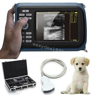 USA Veterinary Portable Digital Palm Ultrasound Scanner with 3.5MHz Covex Probe