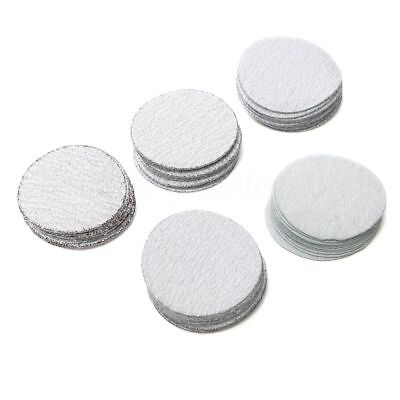 2inch 50mm Sanding Discs Hook and Loop Pack of 50 mixed 80 120 180 240 400 Gr E3