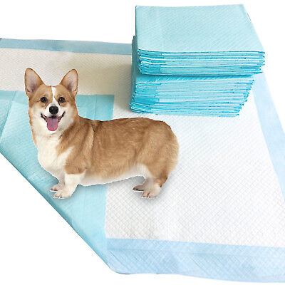 SUNCOO Ultra Heavy Absorbency Dog Puppy Training Wee Wee Pee Pads 100 30''x36''