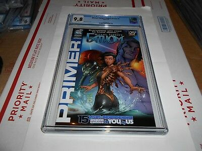 Michael Turner's Fathom Primer #1 Cgc 9.8 (Combined Shipping Available)