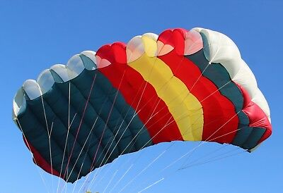 Raven3 (249 sq ft) 7 cell F111 skydiving parachute - practice / Bridge Day