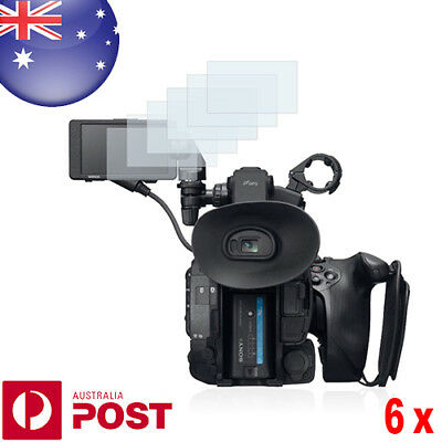 6x Savvies® SU75 High Transparency Screen Protector for Sony PXW-FS5 - P082