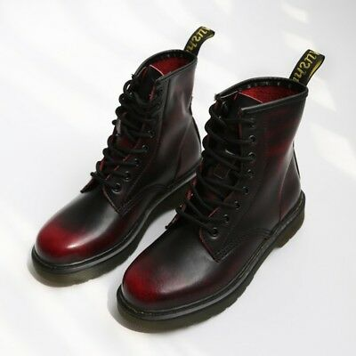 Herren 1460 Martens 8 Boots Eye Leather Smooth Boot Shoes Ankle Damen Size 35 44