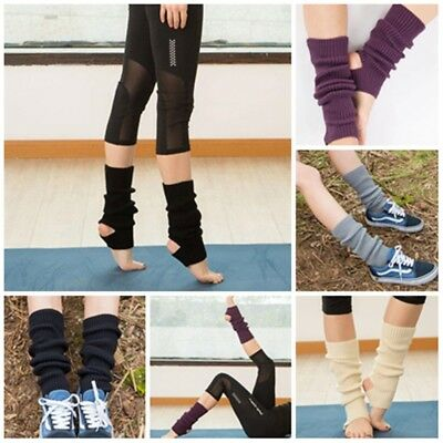 Women Crochet Dance Pilates Yoga Leg Warmers Boot Cuffs Socks  Long Cuffs Scok