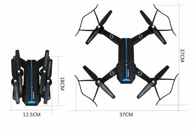 Folding WIFI Camera Drone FPV 2.4Ghz 4CH 6-Axis RC Quadcopter HD RTF Explorer A9