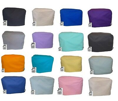 CozyCoverUp® Cotton Food Mixer Dust Cover Plain Colours. Handmade in the UK!