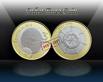 SLOVENIA 3 EURO 2012 ( FIRST OLYMPIC MEDAL ) Commemorative 3 Euro coin *UNC