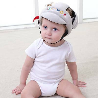 Baby Safety Helmet Head Protection Toddler Kids Adjustable Soft Headguard Cap us
