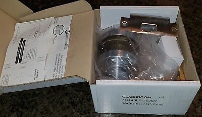 Lever Lock - Grade 1 Commercial-Classroom Function, IDC-ALS40LFUS26D, NEW IN BOX