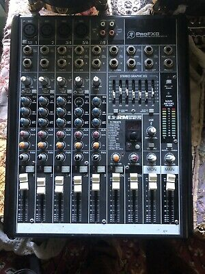 Used Mackie Pro FX8 V2 8 Channel Compact Mixer with FX