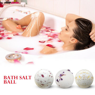 Dried Flower Exfoliating Bathtub Bath Bomb Ball Essential Oil Bath Salt Blaster