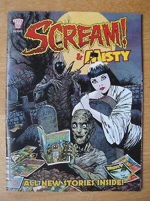 2017 Scream And Misty 2000Ad  Special          2000 Ad