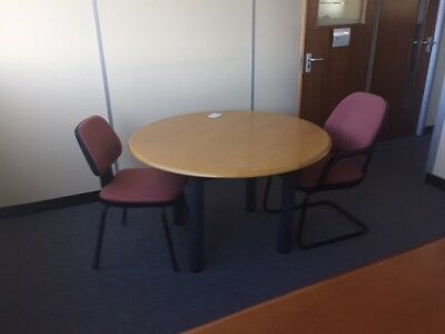 Office  Round Meeting Table, in beach
