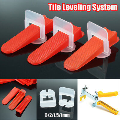 1.0/1.5/2/3mm Tile Leveling System Clips & Wedges & Pliers Spacer Tool Flooring