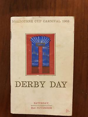 1963 VRC Derby - Lord, Wenona Girl - Greg Miles Collection