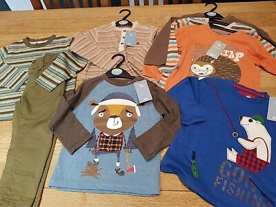 Boys Autumn Winter clothes Bundle 18-24 month long sleeves trousers 8 items