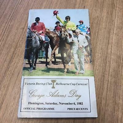 1982 Stakes Day - Racecall book - Greg Miles Collection