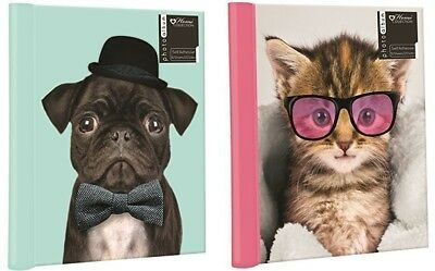 PUG OR KITTEN SELF ADHESIVE LARGE PHOTO ALBUM : 10 Sheets : WH2-R6A : NEW
