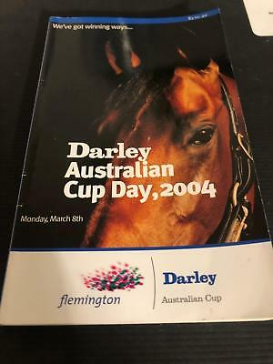 2004 Lohnro's last Melbourne Race - Racecall book - Greg Miles Collection