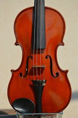 Old French Violin ''LVCDVNVM'' label 1924