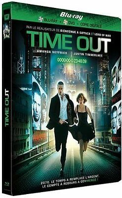 Blu Ray + DVD : Time out - Ed Steelbook - NEUF
