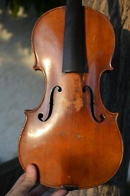 Old French 1900's violin, Stradivarius Model