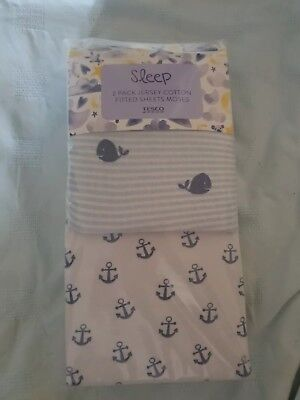 Jersey Cotton Fitted Moses Basket Sheets