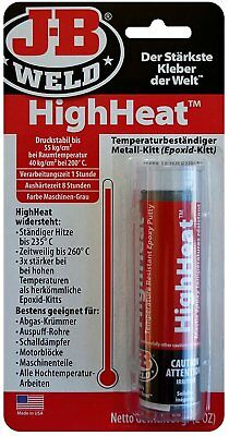 JB Weld 8297 -DEU HighHeat Heat-resistant Epoxy Metal Putty High Temp Work