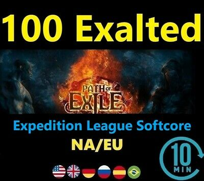 100 x Exalted Orb SYNTHESIS League Softcore (Path of Exile POE ) 100 ex EU/NA/UK
