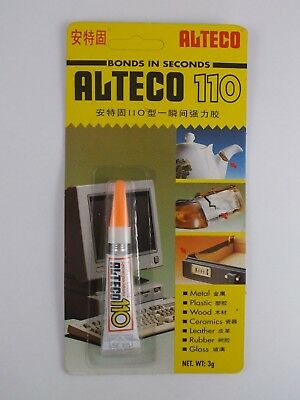 ALTECO 110 SUPER Glue - one of strongest super glues available ! ! !
