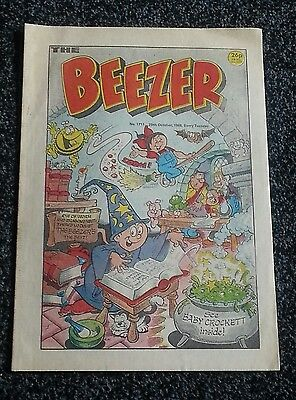 Beezer Comic - issue 1711
