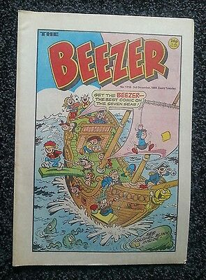 Beezer comic - issue 1716